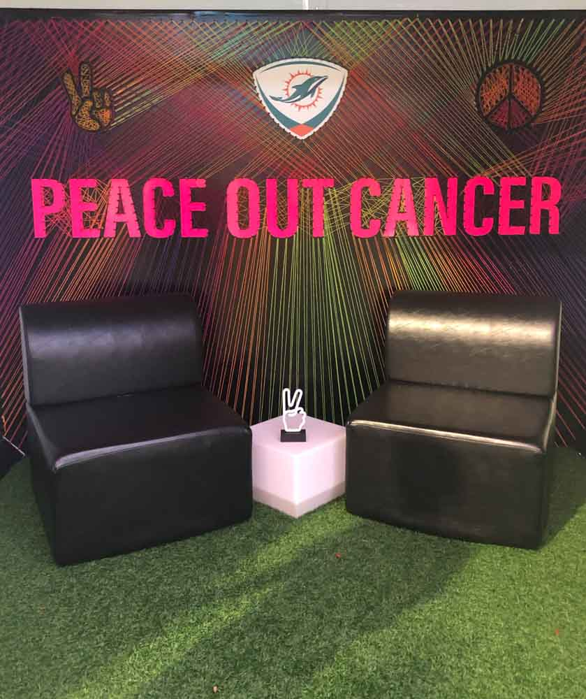 Darkhorse Miami Miami Dolphins DCC Event Peace Out Cancer Knit Krelwear