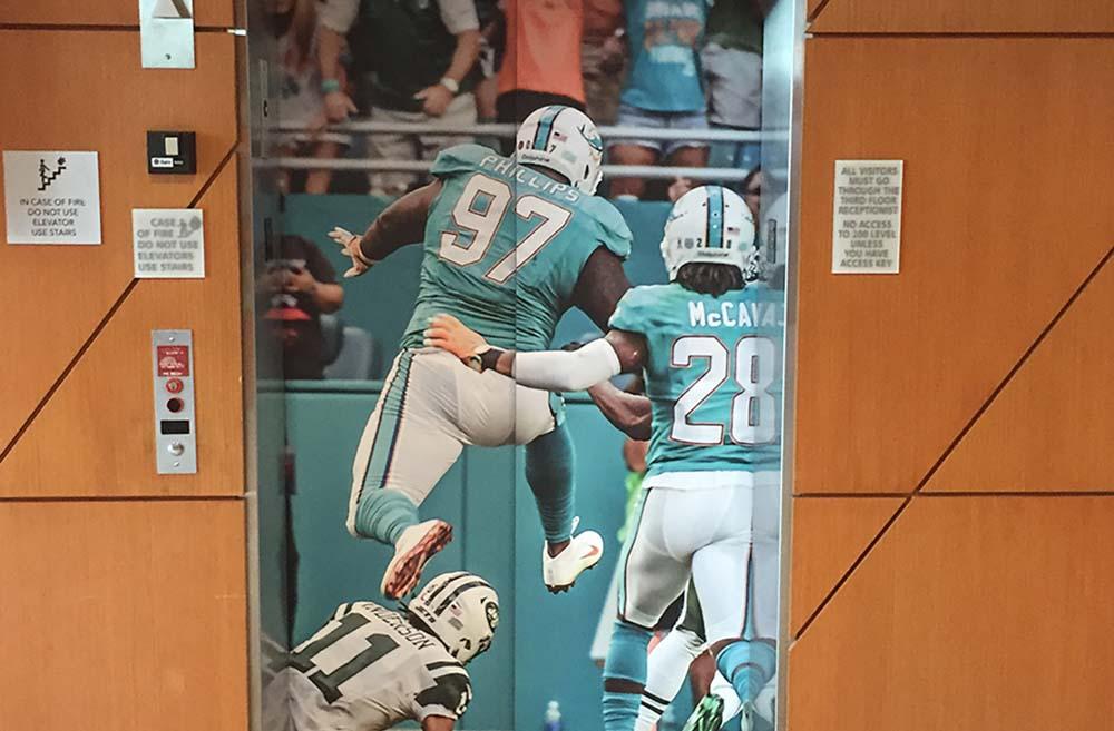 Darkhorse Elevator Wrap Miami Dolphins - Elevator Wrap1 115