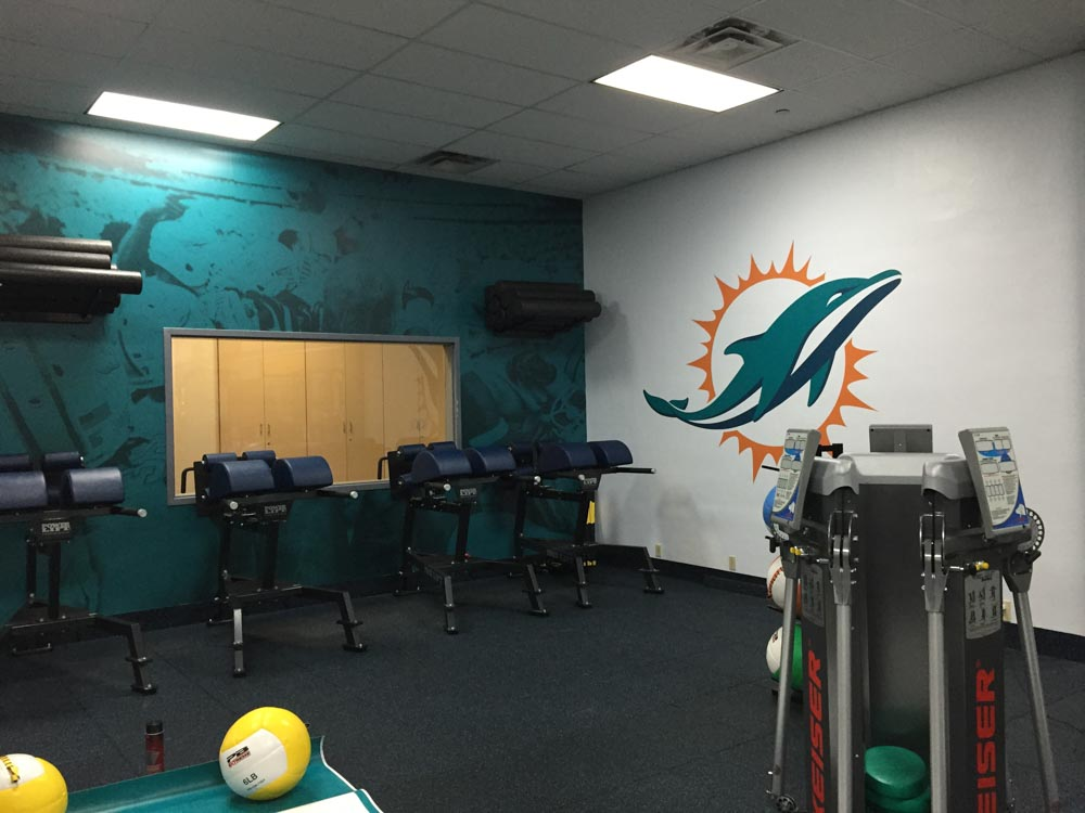Darkhorse Miami Training Facility Miami Dolphins Gym Workout Room 7