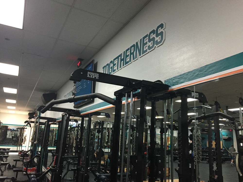 Darkhorse Miami Training Facility Miami Dolphins Gym Workout Room 1