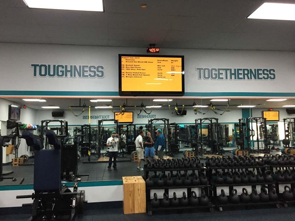 Darkhorse Miami Training Facility Miami Dolphins Gym Workout Room 3