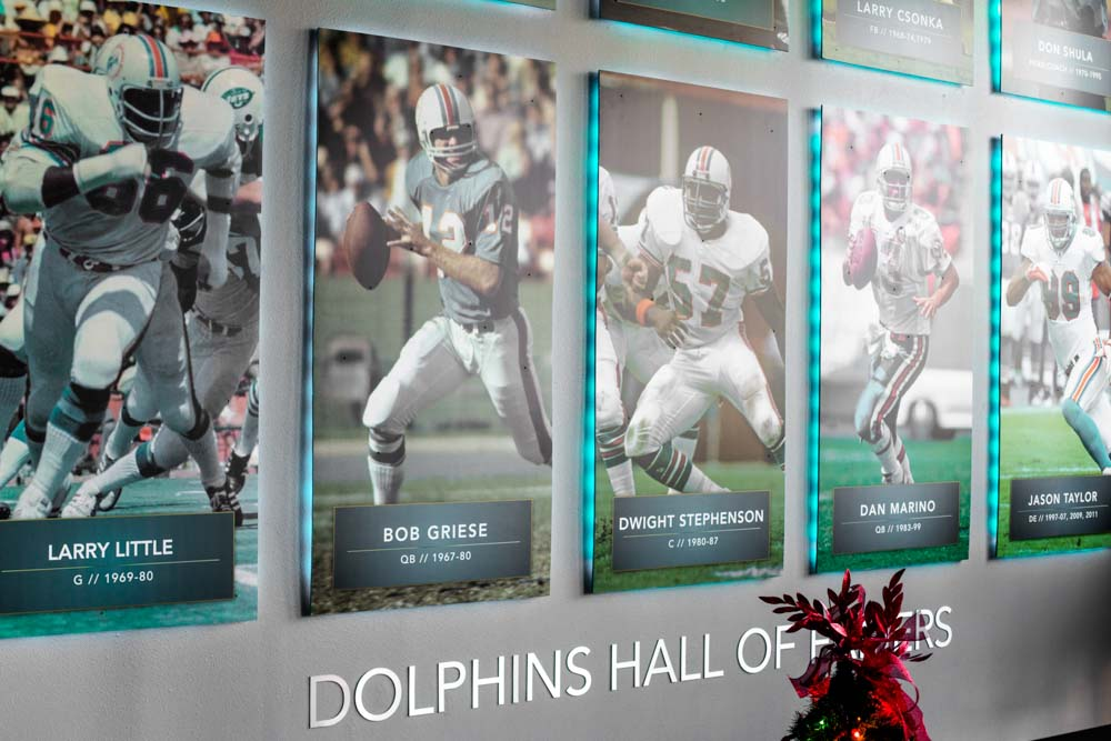 Darkhorse Miami Training Facility Miami Dolphins Dolphins Hall of Fame Players Lobby 1
