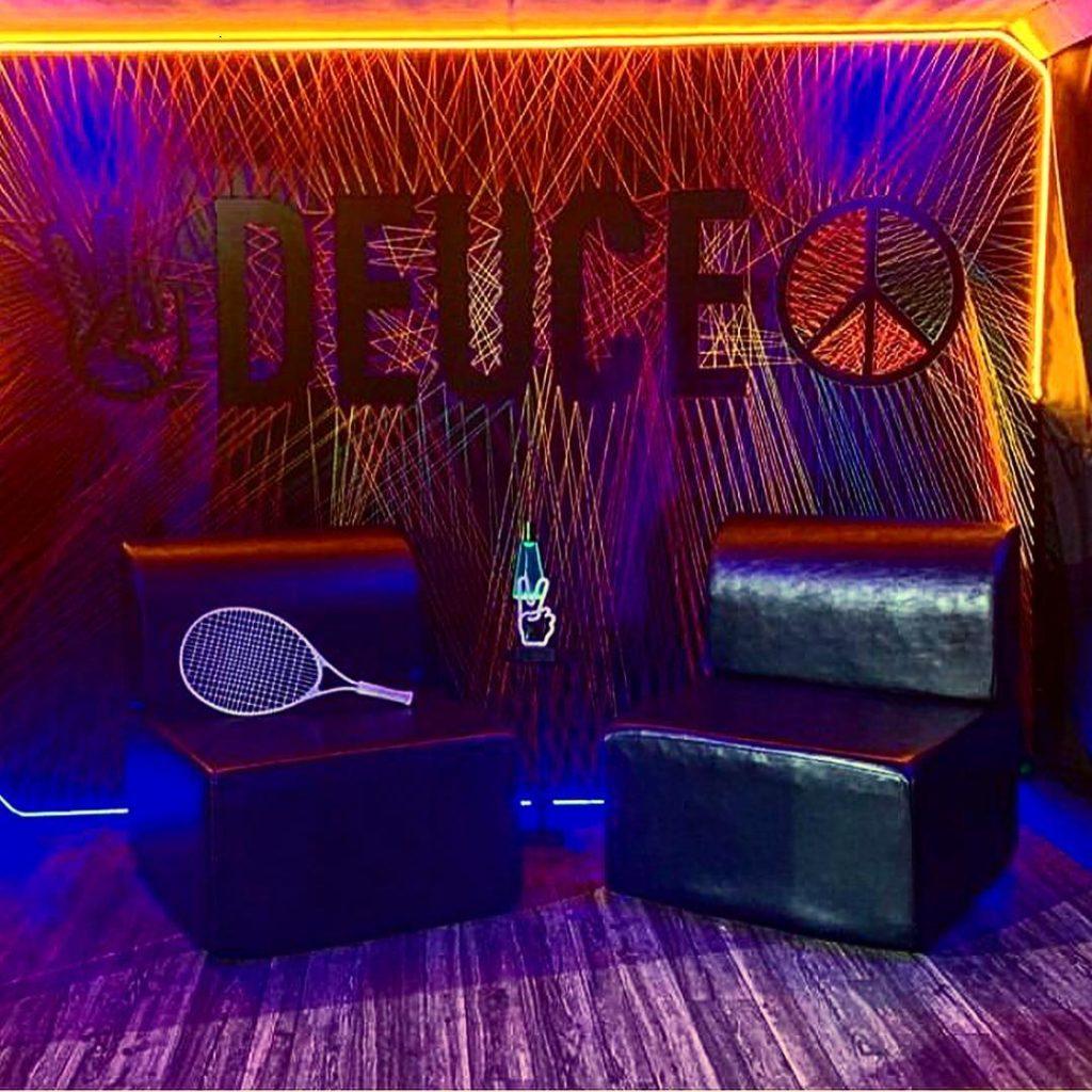Darkhorse Miami Miami Open Instagram Backdrop Deuce Krelwear Knit